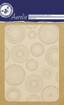 Aurelie Embossingfolder Dotted Circles AUEF1003