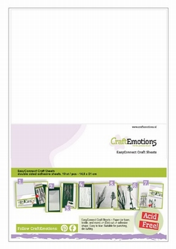 Craft Emotions Easyconnect Craft Sheet A5   119491/0005