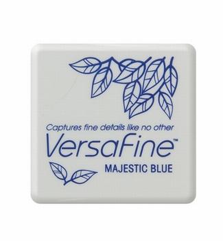 Versafine Sneldrogende inkt KLEIN Majestic Blue VF-SML-018