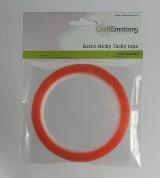 Extra Sticky Dubbelzijdige Tape 6 mm 119491/3186