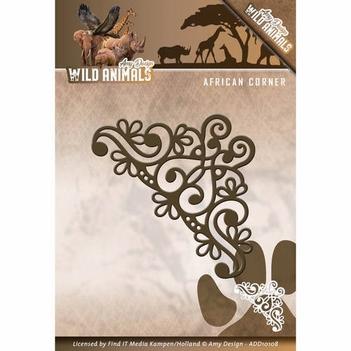 Amy Design Snijmal Wild Animals - African Corner ADD10108  per stuk
