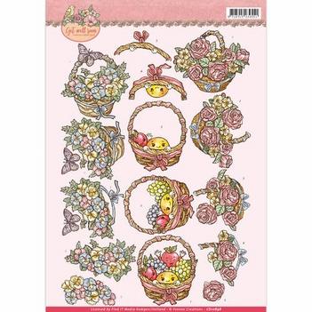 Yvonne Creations knipvel Get well Soon - Fruit CD10898