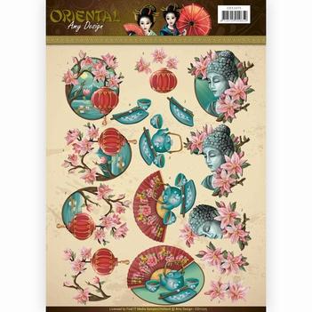 Amy Design knipvel Oriental - Culture CD11075  per vel
