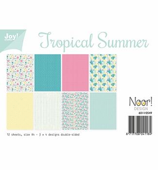 Joy! Crafts Papierset Tropical Summer 6011/0549  per stuk