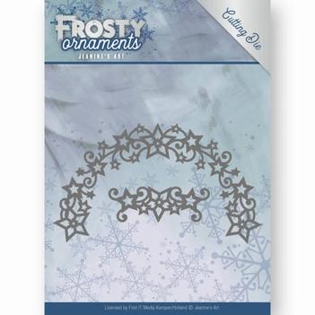 Jeanine's Art Snijmal Frosty Ornaments - Wreath JAD10048