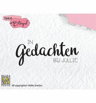 Nellie Snellen Clear Stamp Dutch Texts DTCS021
