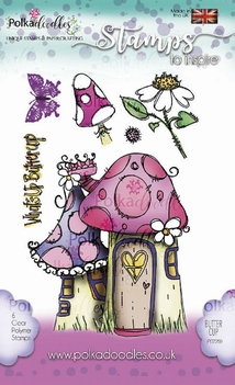 Polka Doodles Clear Stamp What's up Buttercup PD7259