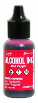 Ranger Alcohol Ink Red Pepper TIM22152