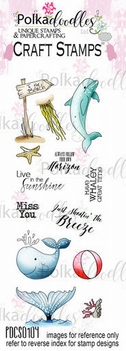 Polka Doodles Clear Stamp Oceania PDCS0104