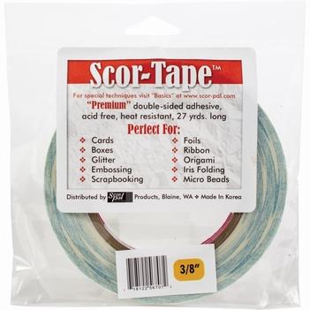 """Scor-Tape Dubbelzijdige tape 3/8""""   SP214"""