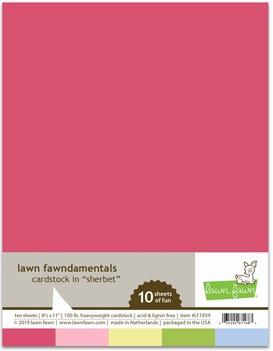 Lawn Fawn Cardstock in Sherbet LF1839