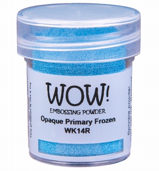 WOW Embossing Poeder Opaque Primary Frozen WK14R