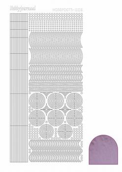 Hobbydots Sticker - Mirror - Candy STDM063  per vel