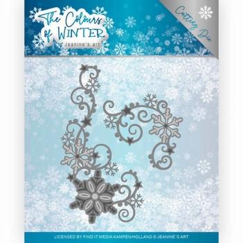 Jeanine's Art Snijmal The Colours of Winter - Swirl JAD10109
