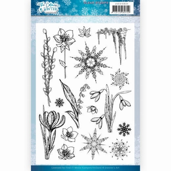 Jeanine's Art Clear Stamp The Colours of Winter JACS10034