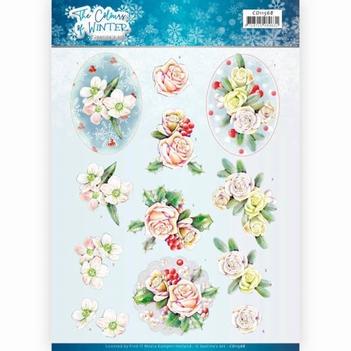 Jeanine's Art Knipvel Colour of Winter - Pink CD11568