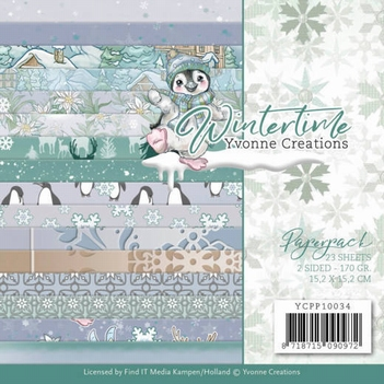 Yvonne Creations Paperpack Wintertime YCPP10034