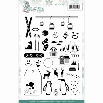 Yvonne Creations Stempel Winter Time YCCS10060