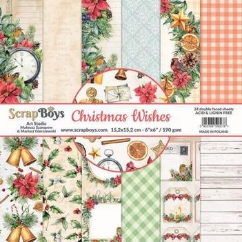 Scrapboys Papierblok Wishes CHWI-09