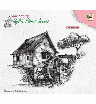 Nellie Snellen Clear Stamp Watermill IFS028
