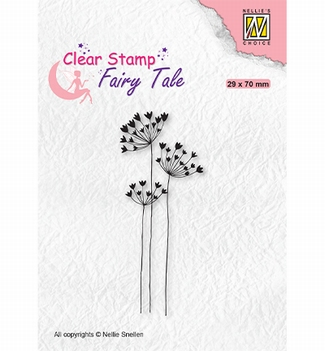 Nellie Snellen Clear Stamp Fairy Tale Umbellifers FTCS030