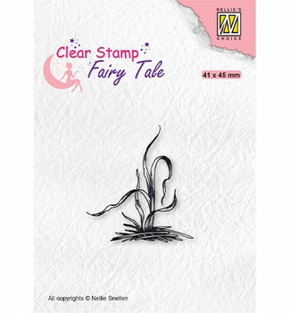 Nellie Snellen Clear Stamp Fairy Tale Grass FTCS028