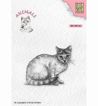Nellie Snellen Clear Stamp Animals Cat ANI023
