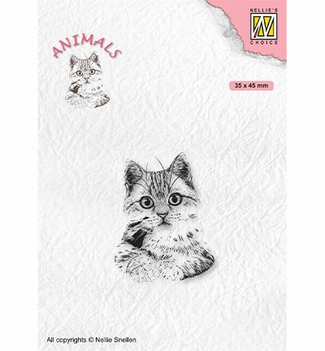 Nellie Snellen Clear Stamp Animals Pussycat ANI021