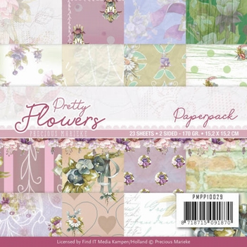 Precious Marieke Paperpack Pretty Flowers PMPP10029