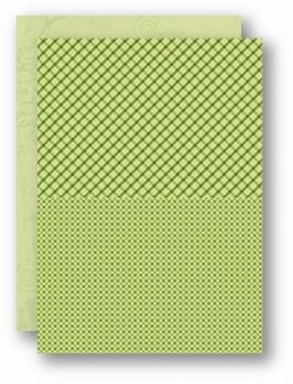 Nellie Snellen Achtergrondvel Groen Squares NEVA027*