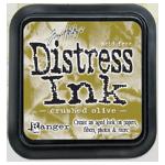 Distress ink GROOT Crushed Olive 27126  per stuk