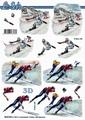 Le Suh Knipvel Schaatsen/Snowboarden 8215709 per vel
