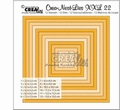 Crea-Nest-Lies set mallen nummer 22 XXL Stitch   CLNest22XXL