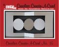 Crealies Create A Card nummer 15   CCAC15 per stuk
