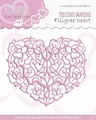 Precious Marieke Snijmal Romance - Filigree Heart PM10027