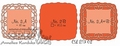 Crealies Elegant Frames nr. 2 CLEF02* per verpakking