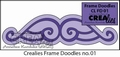 Crealies Frame Doodle CLFD01*