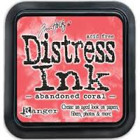 Distress ink GROOT Abandoned Coral 43188
