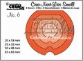Crea-Nest-Lies Small Kiekeboe Rond 6   CNLS06