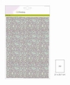 Craft Emotions Glitterpapier Babyblauw 1290/0110