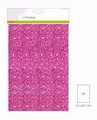 Craft Emotions Glitterpapier Cyclaam 1290/0135