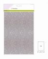 Craft Emotions Glitterpapier Wit 1290/0160