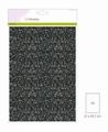 Craft Emotions Glitterpapier Zwart 1290/0170