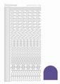 Hobbydots Sticker - Mirror - Violet STDM186 per vel