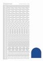 Hobbydots Sticker - Mirror - Blue STDM18A per vel