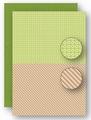Nellie Snellen Achtergrondvel Green Lines NEVA067*