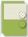 Nellie Snellen Achtergrondvel Green Holly NEVA066*
