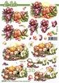 Le Suh Knipvel bloemen/Kaars 8215744 per vel