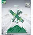 Joy Crafts Cutting, Emb. & Debossing Skis, Berg 6002/2048*
