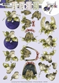 Precious Marieke knipvel - Vogels CD10541*